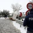 Maltempo Basilicata: autocisterna sbanda per neve a Potenza123