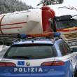 Maltempo Basilicata: autocisterna sbanda per neve a Potenza12