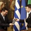 Renzi regala una cravatta a Tspiras. Lui risponde con un cd FOTO 3