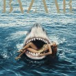 Rihanna nuota tra gli squali per Harper's Bazaar05