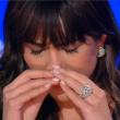 Sanremo 2015, Rocio Munoz Morales piange anche da Giletti08