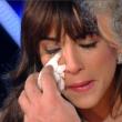 Sanremo 2015, Rocio Munoz Morales piange anche da Giletti06