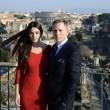 Roma, Monica Bellucci e Daniel Craig ai Fori Imperiali10