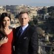 Roma, Monica Bellucci e Daniel Craig ai Fori Imperiali3