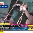 Saddam Hussein, cappio impiccagione 04