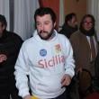 "Matteo Salvini chiede scusa e sfodera felpa ""Sicilia""04"