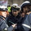 Sciopero vigili urbani Roma, traffico in tilt