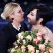 """Sanremo 2015, Conchita Wurst barba e caschetto: """"Conta chi sei e io sono questo""""10"""