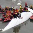 VIDEO YouTube Taiwan, aereo TransAsia cade nel fiume dopo decollo2