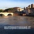 Roma, Tevere in piena: dopo le forti piogge livello del fiume a 11 metri FOTO 4