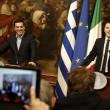 Renzi regala una cravatta a Tspiras. Lui risponde con un cd FOTO 2