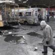 Bombe ucraine a Donetsk controllata dai filo-russi 6