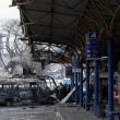 Bombe ucraine a Donetsk controllata dai filo-russi