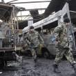 Bombe ucraine a Donetsk controllata dai filo-russi 07