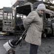 Bombe ucraine a Donetsk controllata dai filo-russi 08