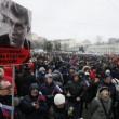Nemtsov, video dell'omicidio. In migliaia sfilano a Mosca per l'oppositore