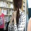 VIDEO YouTube, Alexandria Morra come Kendra Sunderland: strip in biblioteca 04