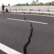 VIDEO YouTube. Crepa su A14: autostrada chiusa tra Puglia e Molise FOTO