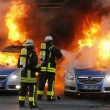 Bce. Francoforte brucia, Blockupy contro la nuova sede: scontri e cariche 11