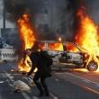 Bce. Francoforte brucia, Blockupy contro la nuova sede: scontri e cariche 14