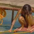 Cristina Buccino copriti la tetta... Incidente hot durante la prova delle corde (19)