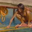 Cristina Buccino copriti la tetta... Incidente hot durante la prova delle corde (21)