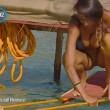 Cristina Buccino copriti la tetta... Incidente hot durante la prova delle corde (23)