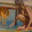 Cristina Buccino copriti la tetta... Incidente hot durante la prova delle corde (25)