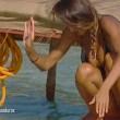 Cristina Buccino copriti la tetta... Incidente hot durante la prova delle corde (4)