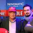 Niki Lauda in visita a Novomatic Italia a Rimini 01