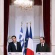 Tsipras a Parigi da Hollande (LaPresse)