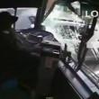 VIDEO YouTube - Colpo di sonno al volante: autista bus si schianta contro 6 auto3