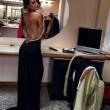 Cristina Buccino sexy a Grand Hotel Chiambretti FOTO Vestito trasparente2