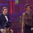 Cristina Buccino sexy a Grand Hotel Chiambretti FOTO Vestito trasparente