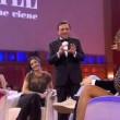 Cristina Buccino sexy a Grand Hotel Chiambretti FOTO Vestito trasparente6