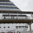 """Tunisi, passeggeri Msc """"Splendida"""" e """"Costa Fascinosa"""" arrivano in Spagna06"""