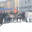 """Lega, Matteo Salvini a Genova. Centri sociali contestano: """"Fascista"""" FOTO 04"""