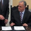 Giuramento del governo Tsipras: il vicepremier Giannis Dragasakis (LaPresse)