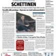 """Andreas Guenter Lubitz """"Schettinen"""": titolo del Giornale in prima pagina FOTO"""