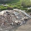 Roma, lapidi del cimitero gettate in discarica abusiva su via Prenestina02