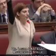 """VIDEO YouTube: Laura Castelli (M5s) a Renzi: """"Alzi la testa quando deputato le parla""""6"""