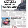 """Andreas Guenter Lubitz """"Schettinen"""": titolo del Giornale in prima pagina FOTO2"""