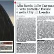 """""""Londra è il più grande paradiso fiscale al mondo"""": ecco perché"""