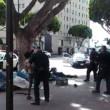 Los Angeles, polizia uccide senzatetto con 5 colpi di pistola4