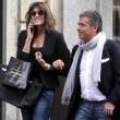 Canio Mazzaro con la ex Elisa Isoardi