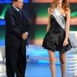 Miriam Leone e Berlusconi: quella volta a Porta a Porta nel 2008 FOTO