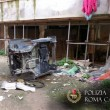 Ostia, 7 auto smontate nell'autorimessa abusiva nelle case del Comune di Roma03