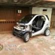 Ostia, 7 auto smontate nell'autorimessa abusiva nelle case del Comune di Roma02