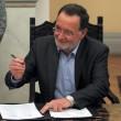 Giuramento del governo Tsipras: il ministro di Ricostruzione, Ambiente ed Energia Panagiotis Lafazanis (LaPresse)