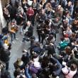 Pino Daniele, flash mob a Napoli per i suoi 60 anni02